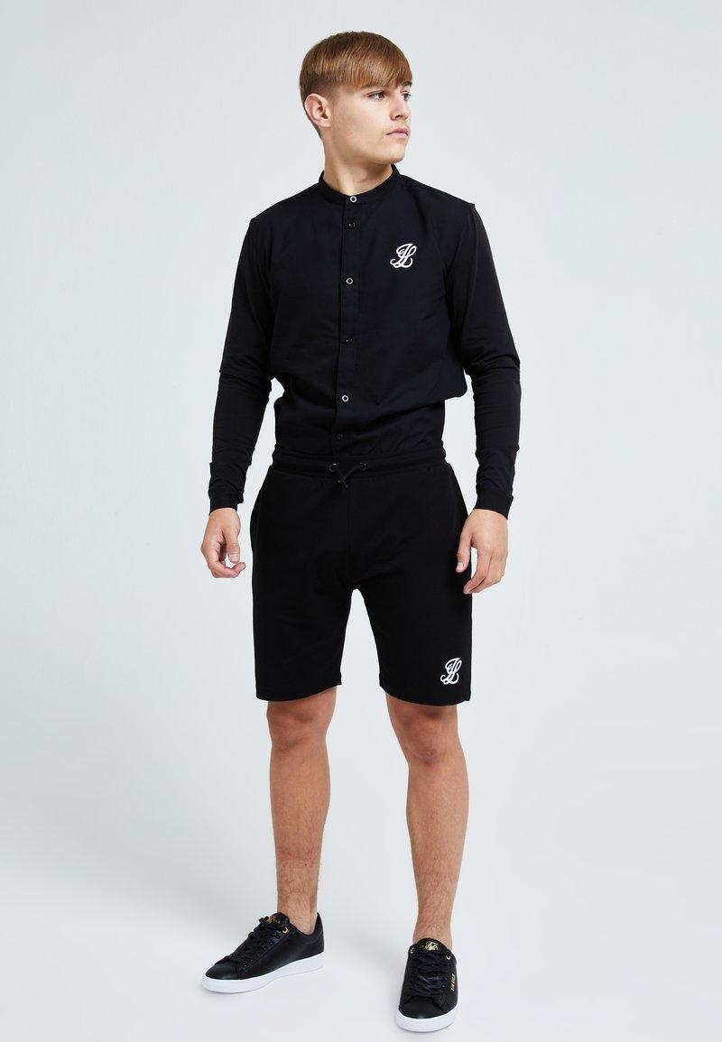 Illusive London Juniors - ILLUSIVE LONDON CORE GRANDAD - Shirt - black
