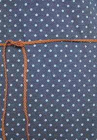 Ragwear - TAG DOTS - Žerzejové šaty - denim blue - 2