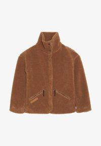 Didriksons - BERN GIRLS JACKET - Outdoor jacket - toffee brown - 2