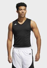 adidas Performance - N3XT PREMIUM TEAM AEROREADY - Top - black/white - 0