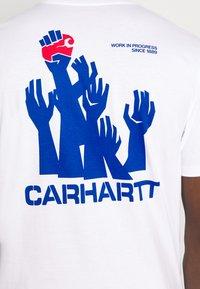 Carhartt WIP - HARTTBREAKER - Print T-shirt - white - 4