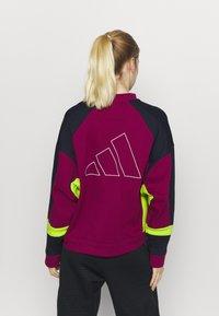 adidas Performance - URBAN CREW - Sweatshirt - berry - 2