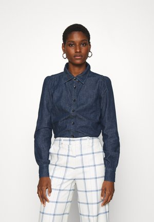 THELMA BLOUSE - Button-down blouse - dark blue