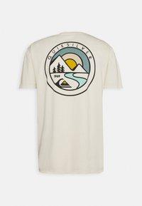 Quiksilver - MOUNTAIN VIEW - Print T-shirt - oatmeal - 1