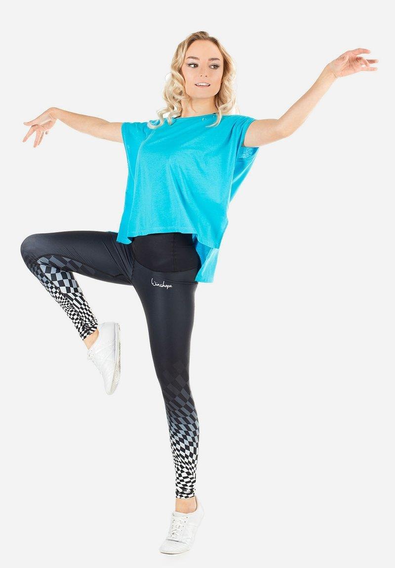 Winshape - MCT010 ULTRA LIGHT - Print T-shirt - sky blue