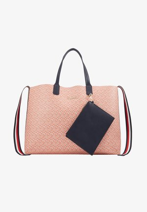 ICONIC TOTE MONOGRAM - Tote bag - orange