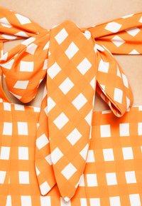 Glamorous - MAYA - Day dress - rust gingham - 4