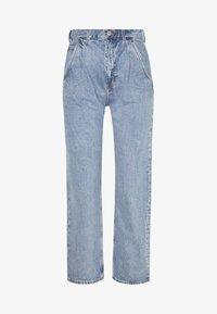 FRAME PEN - Relaxed fit jeans - pen blue