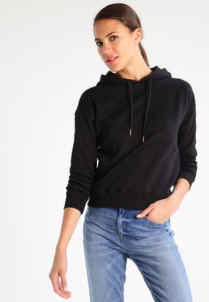 LADIES HOODY - Jersey con capucha - black