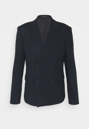 CROPPED - Blazer jacket - navy