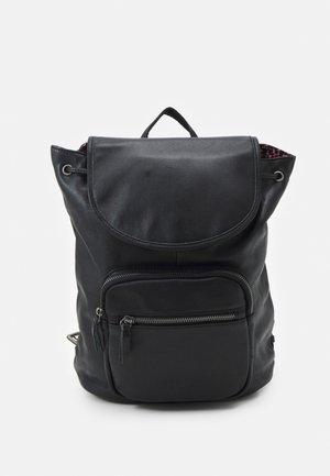 ZIP BAG PACK - Mochila - black