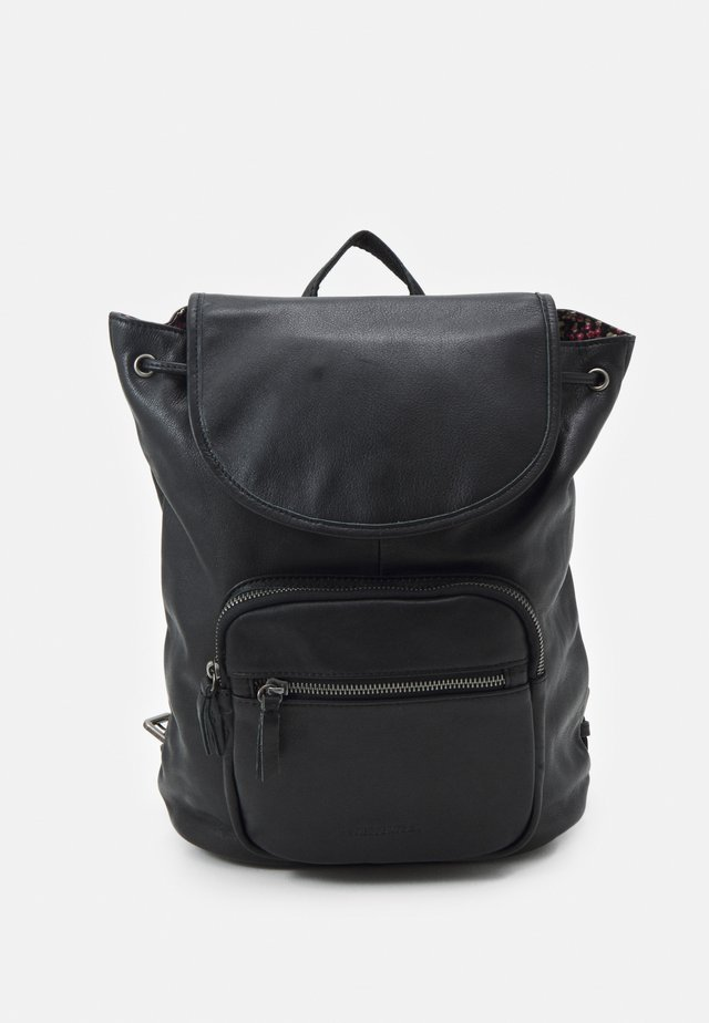 ZIP BAG PACK - Rucksack - black