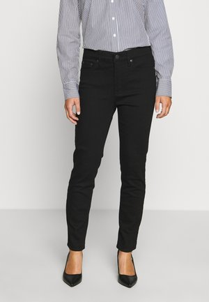 LOOKOUT HIGH RISE - Jeans Slim Fit - true black