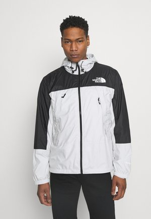 HYDRENALINE WIND JACKET - Chaqueta fina - tin grey/tnf black
