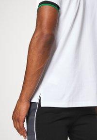 11 DEGREES - BASEBALL COLLAR - T-shirt print - white - 3