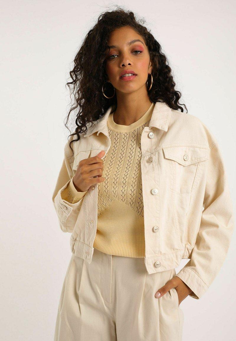 Pimkie - Denim jacket - naturweiß
