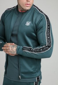 SIKSILK - CRUSHED  JACKET - Giubbotto Bomber - ocean green - 4