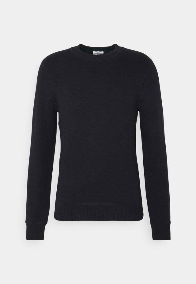 Pullover - dark blue/tan/green