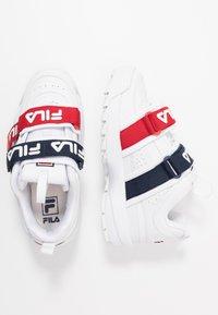 Fila - DISRUPTOR STRAPS - Zapatillas - white - 3