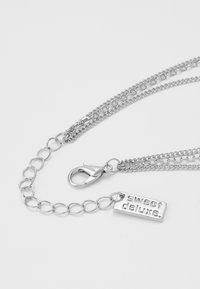 sweet deluxe - KETTE 3 - Náhrdelník - silver-coloured - 3
