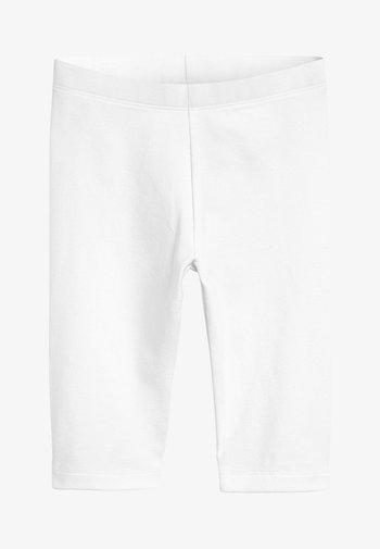 WHITE CROPPED LEGGINGS (3-16YRS) - Leggings - Hosen - white