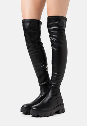 FARRAH - Over-the-knee boots - black