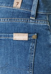7 for all mankind - ASHER LEFT HAND RESTORE - Straight leg jeans - mid blue - 2