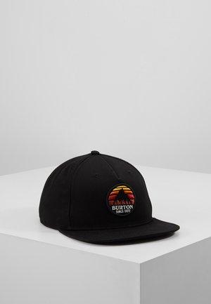 UNDERHILL                         - Czapka z daszkiem - true black