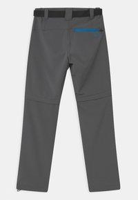 CMP - BOY ZIP OFF 2-IN-1 - Outdoor trousers - grey regata - 1