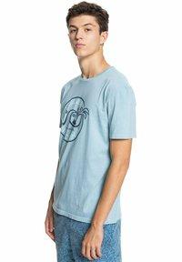 Quiksilver - INTO THE WIDE - Print T-shirt - blue heaven - 3