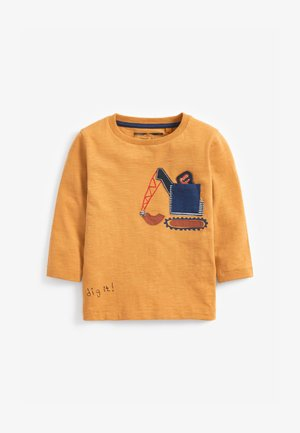 DIGGER DINO POCKET  - Long sleeved top - yellow