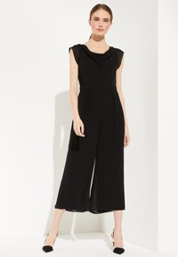 comma - OVERALL  - Jumpsuit - black - 4