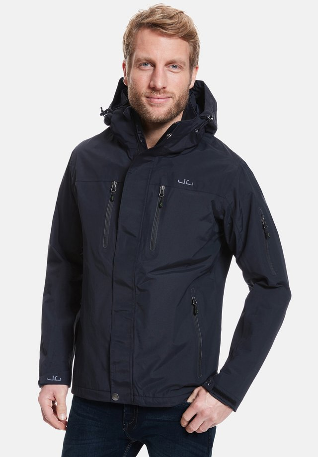 HARSTAD - Giacca outdoor - black