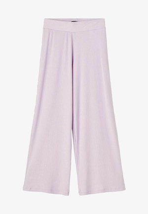 MIT WEITEM BEIN - Trousers - orchid petal