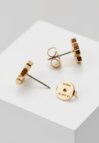 Tory Burch - LOGO EARRING - Náušnice - rose gold-coloured - 2