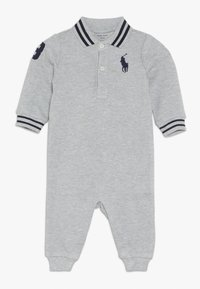 Polo Ralph Lauren - BASIC COVERAL BABY - Jumpsuit - andover grey heather - 0