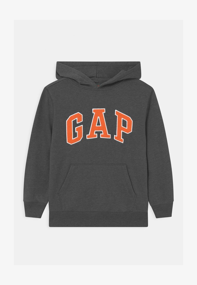 GAP - BOY NEW CAMPUS LOGO HOOD - Sweatshirt - charcoal grey