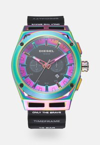Diesel - TIMEFRAME - Chronograph watch - black - 0