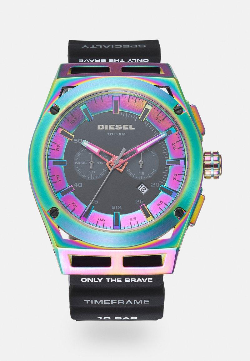 Diesel - TIMEFRAME - Chronograph watch - black