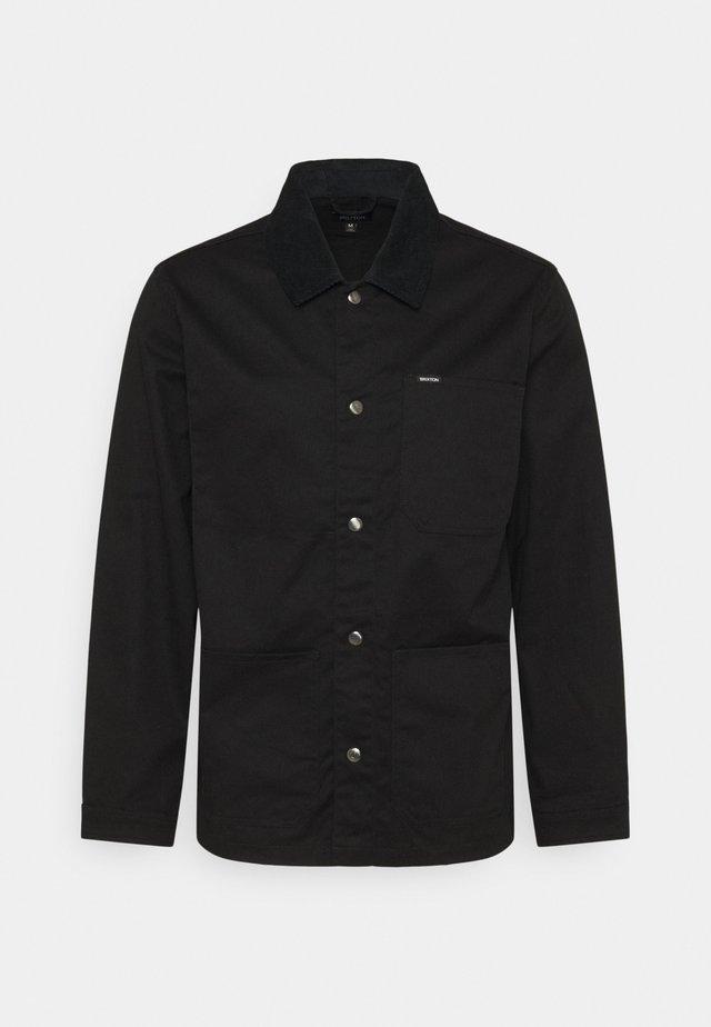 SURVEY CHORE COAT - Giacca leggera - black