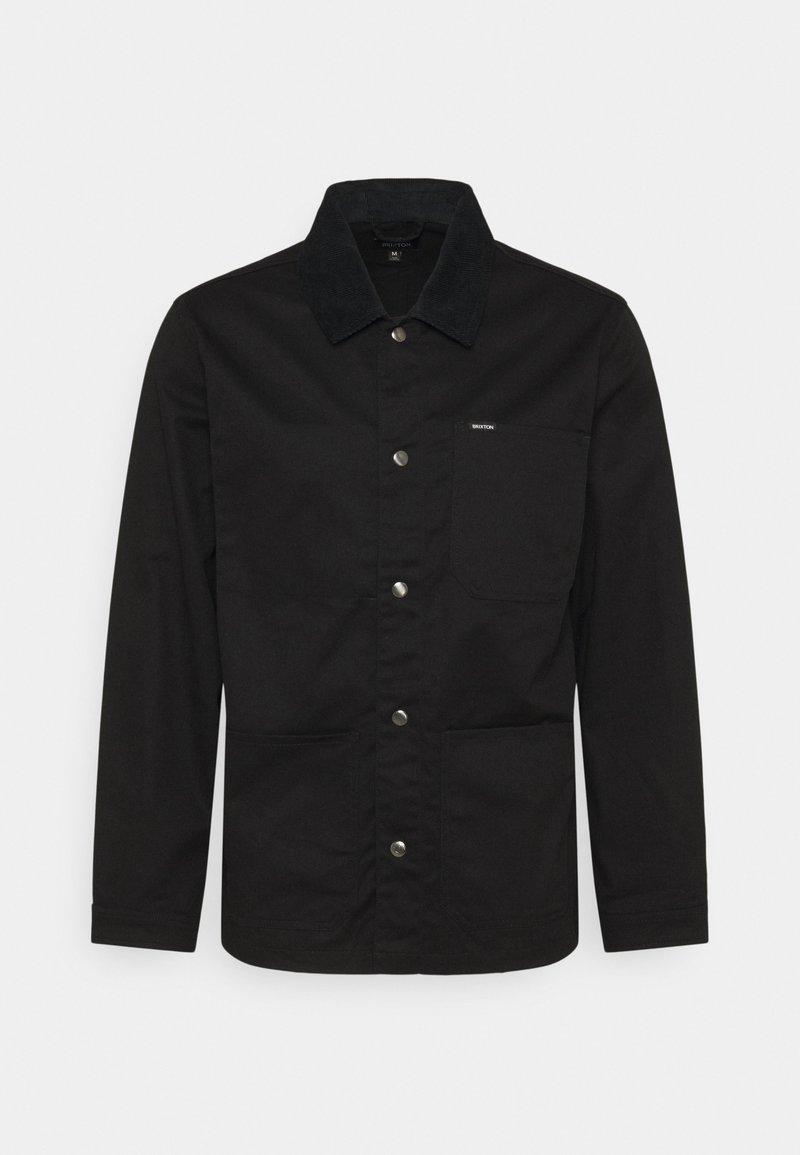 Brixton - SURVEY CHORE COAT - Summer jacket - black
