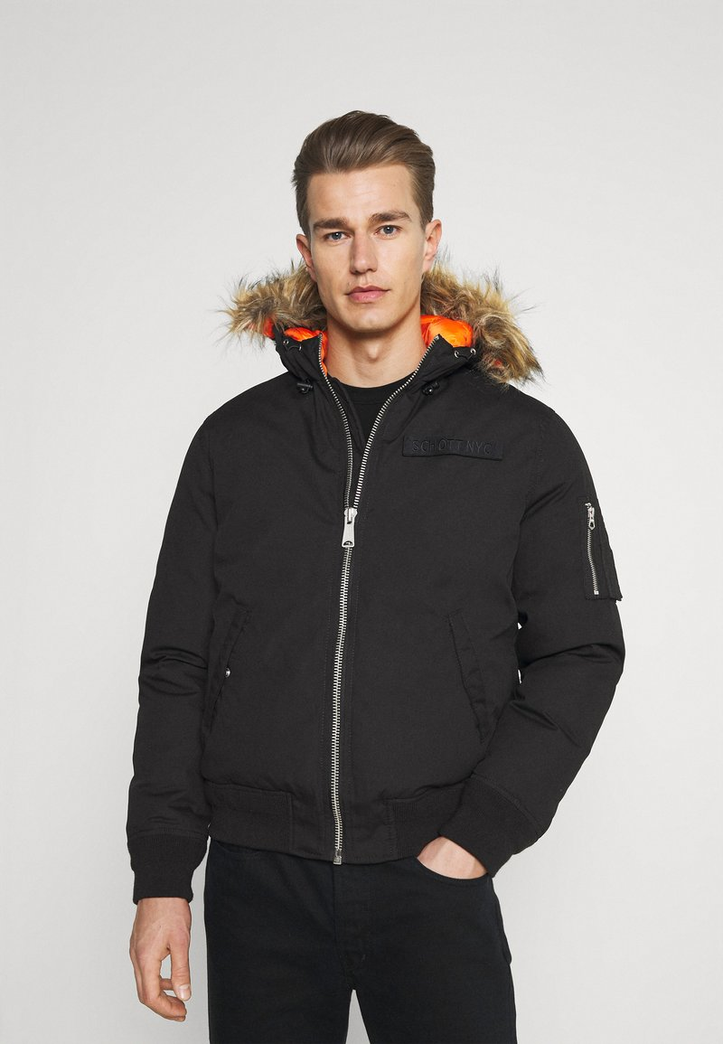 Schott - POWELL - Winter jacket - black