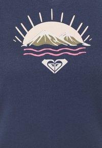 Roxy - Print T-shirt - mood indigo - 2