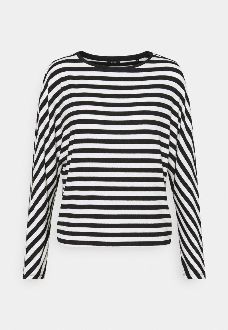 Opus - SEVUN - Pitkähihainen paita - black
