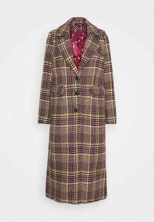 MCKENNA COAT BRAZZA - Classic coat - beet red