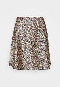 Lindex - SKIRT MEDEA SHORT - A-line skirt - black - 3