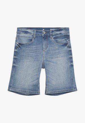 ALEXA BERMUDA - Denim shorts - light stone wash denim blue