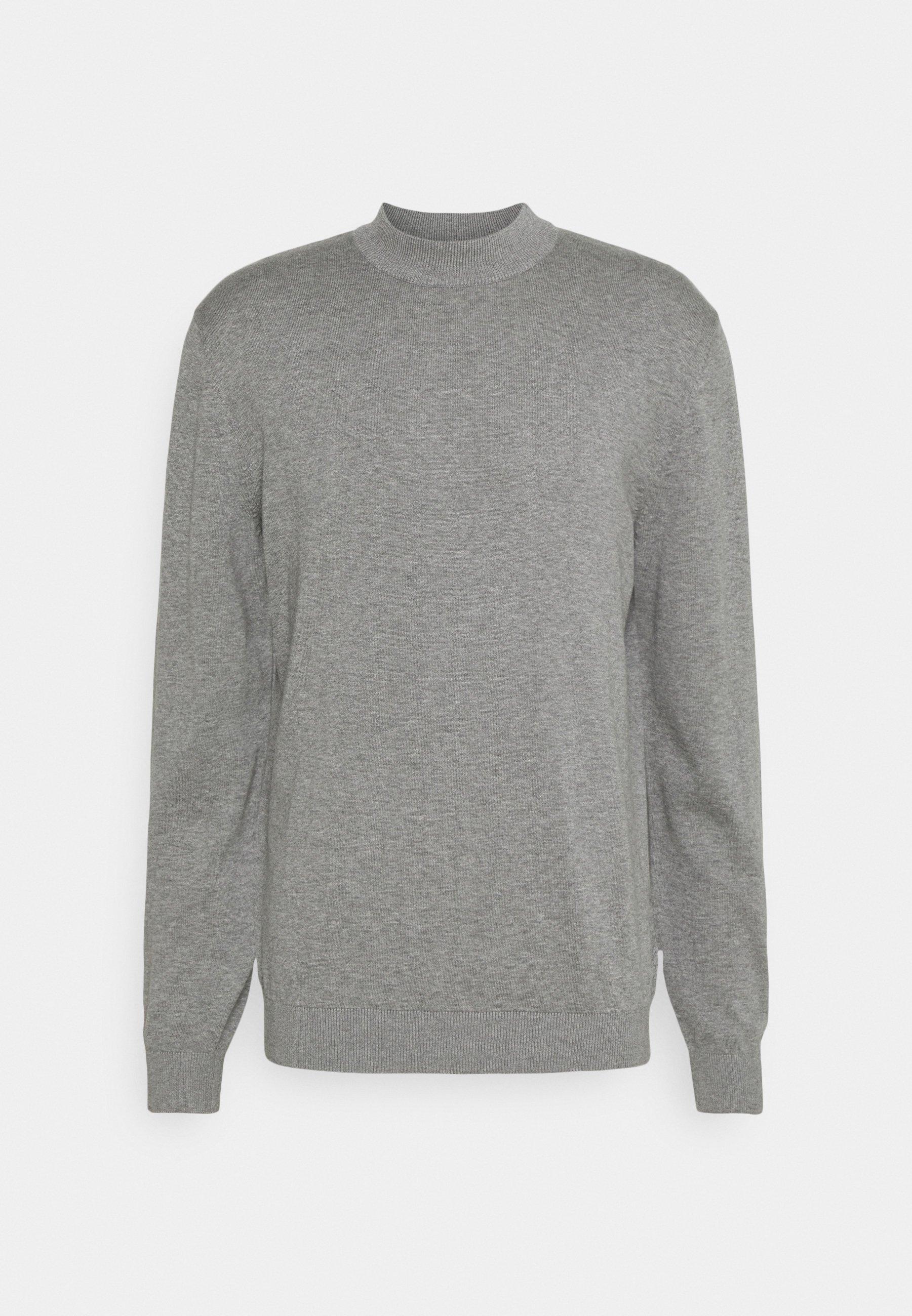 Men BASIC - Jumper - medium grey