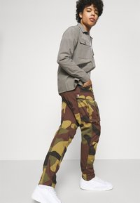 G-Star - ROVIC ZIP TAPERED - Cargo trousers - wood - 3