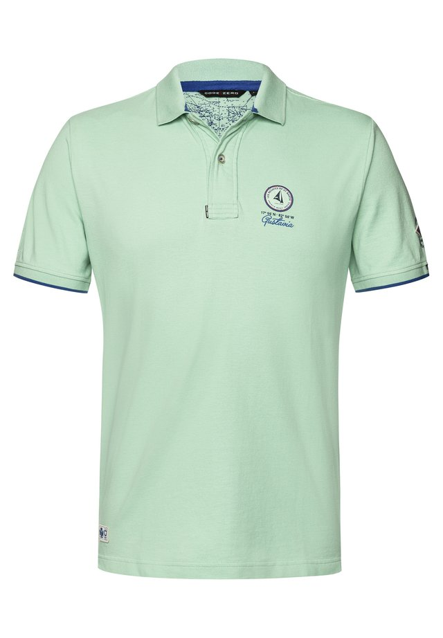 ST JEAN  - Polo shirt - green wave